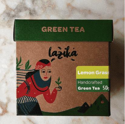 lazika yeşil çay limon otu